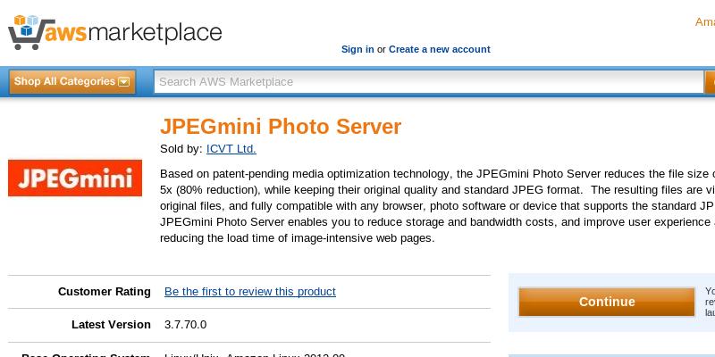 JPEGmini - aws